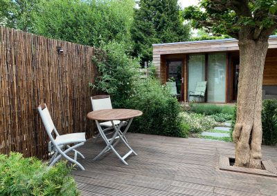 Tuinkamer met veranda