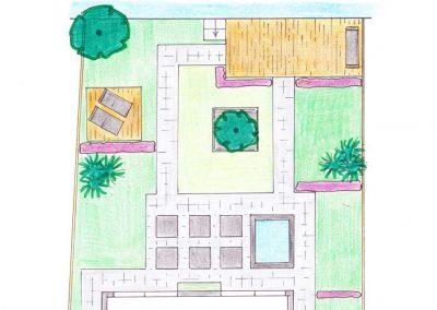 tuinontwerp Linschoten definitief ontwerp