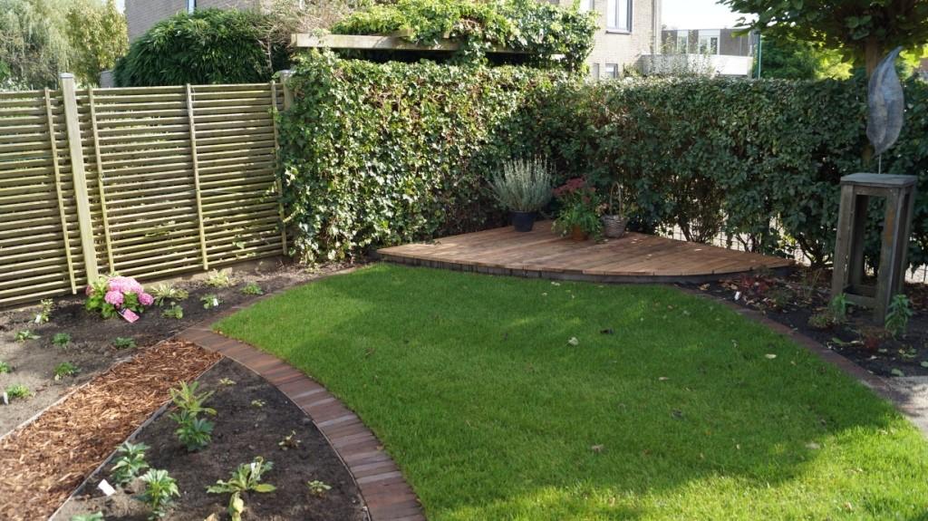 tuinontwerp moderne tuin Woerden