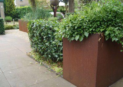 Rolstoelvriendelijke tuin