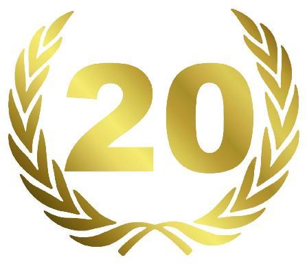 20 jarig jubileum tuinontwerper