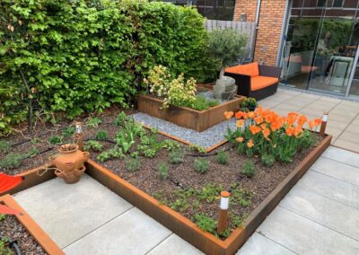 Woerden daktuin - tuinontwerper tuinarchitect tuinontwerp