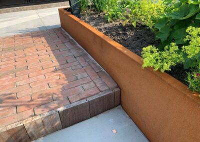 Onderhoudsvriendelijke tuin Kamerik - tuinontwerp