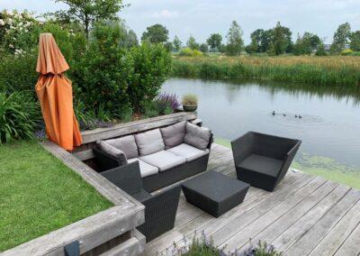 ontwerp tuin aan de dijk - Linschoten Montfoort Utrecht (12)