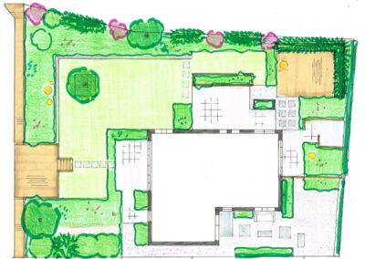 ontwerp tuin aan de dijk - Linschoten Montfoort Utrecht (17)